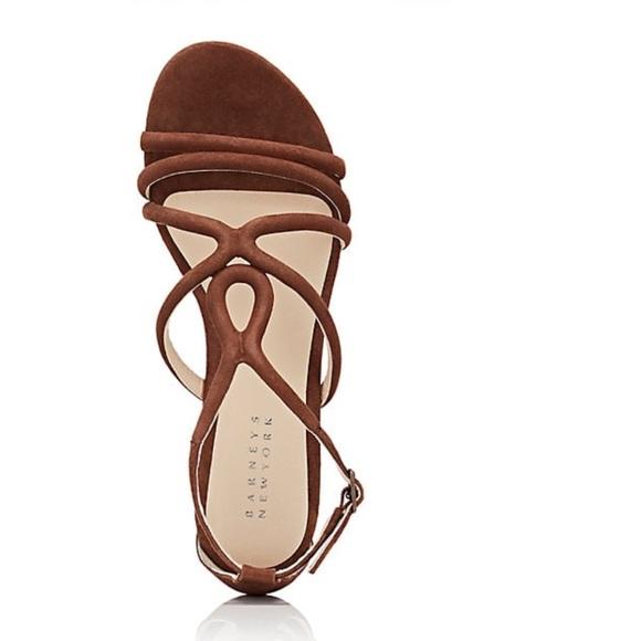 01b4ad2976f0 Barneys New York Shoes - Barneys New York suede multi strap sandals